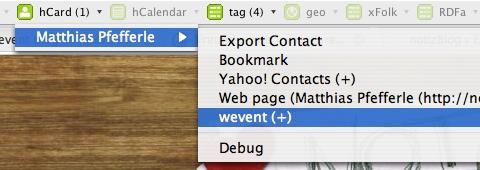 wevent operator user script