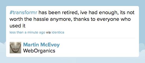 Martin McEvoys tweet