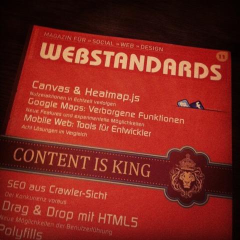 Webstandards Magazin Nr. 11