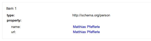 rich snippets test: Schema.org