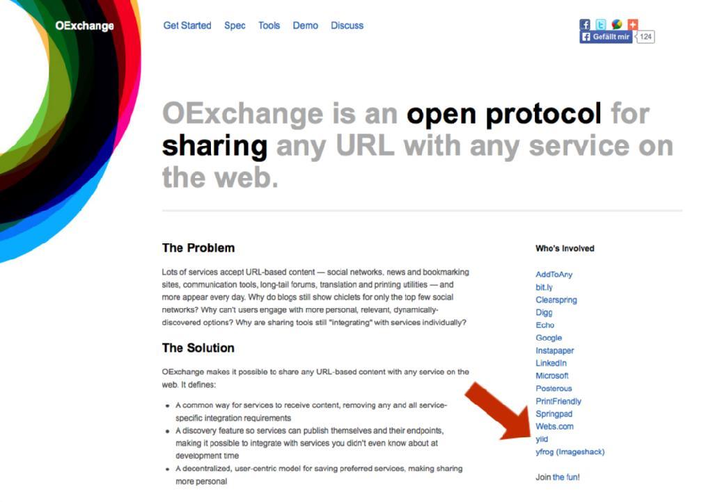 YIID auf OExchange.org