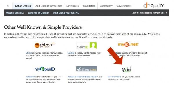 YIID on OpenID.net
