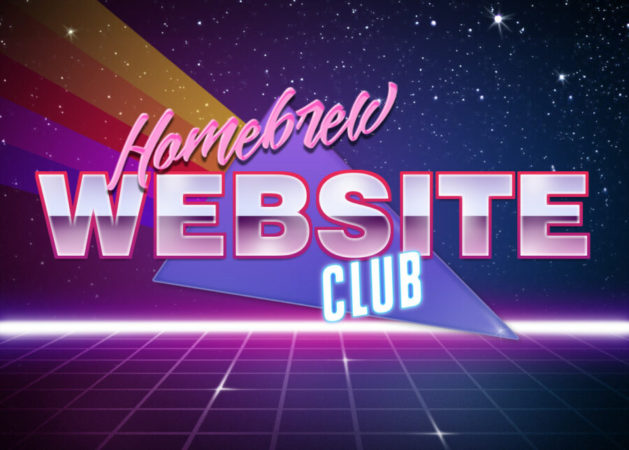 Homebrew Website Club Banner
